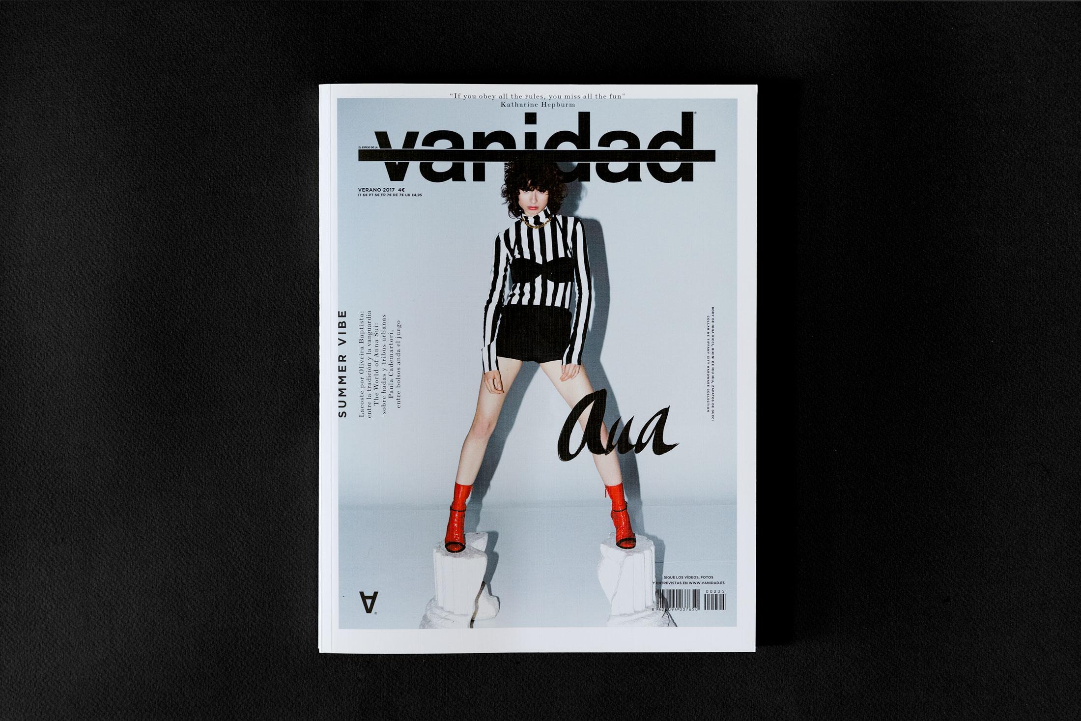 Vanidad Magazine – Montse Tanús